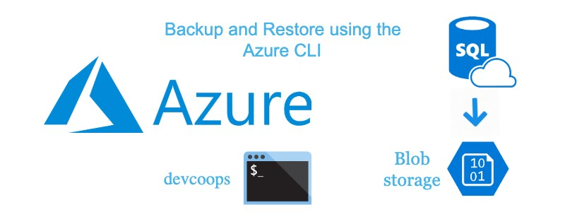 How to backup and restore an Azure SQL database using Azure CLI